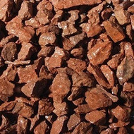 Red Whin chippings 20mm Decorative Gravel -  LOCAL DELIVERY ONLY