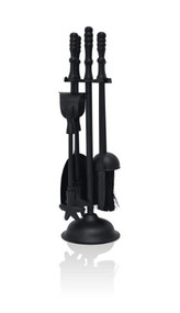 Traditional Companion Set Black 410mm