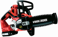 B&D Li-ion Chainsaw 20cm (Delivery 4-5 days)