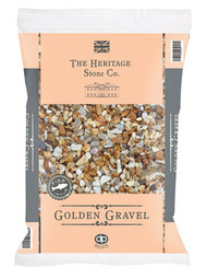 Heritage Stone Golden Gravel 10mm - LOCAL DELIVERY ONLY
