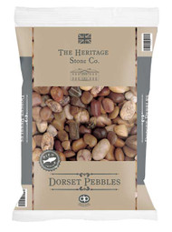 Heritage Stone Dorset Pebbles 20-40mm - LOCAL DELIVERY ONLY