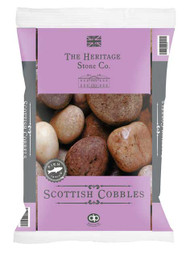 Heritage Stone Scottish Cobbles 50-75mm - LOCAL DELIVERY ONLY