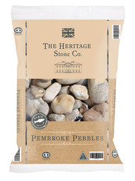 Heritage Stone Pembroke Pebbles 40mm - LOCAL DELIVERY ONLY