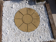 Oxford Antique Buff Circle Small 1.5m