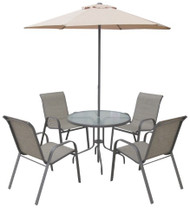 Seville 6 Piece Patio Set  -  LOCAL DELIVERY ONLY