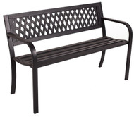 Central Park 2 Seater Bench  -  LOCAL DELIVERY ONLY