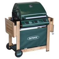 Outback Hunter Gas BBQ 3 Burner