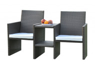Rattan Companion Set KD  -  LOCAL DELIVERY ONLY