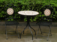 Mosaic Bistro Set  -  LOCAL DELIVERY ONLY