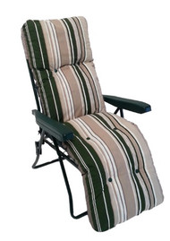 Culcita Green Stripe 5Pos Relaxer Frame & Cushion