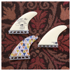 *SPECIAL PRICE* Captain Fin - SUMMER TEETH - Dane Reynolds - Small - Thruster Set