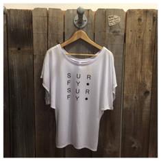 Women's Surfy Dots - White