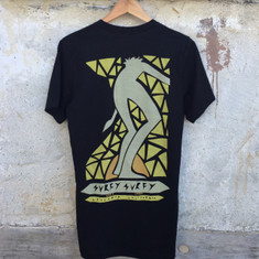 Andy Davis Mosaic Surfy tee - Black