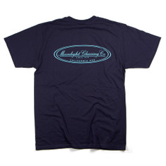 Moonlight Glassing - Since 1979 - Mens T-Shirt - Navy
