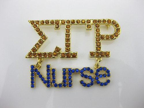 Sigma Nurse Pin