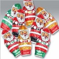 Foiled Chocolate Santas 7 oz bag