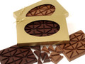 Dark Chocolate Breakup Bar in a Gift Box. ( Both milk and dark boxes shown in photo )