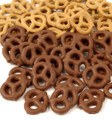 Milk Chocolate Honey Graham Pretzels 6.5 oz Tub