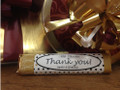 Thank You Milk Chocolate Candy Bar 1.5 oz