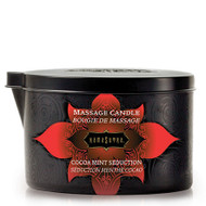 Cocoa Mint Seduction Massage Oil Candle