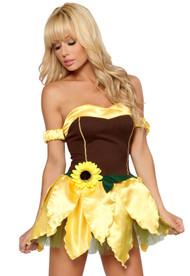 Sunflower babe Costume