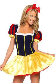 Snow White Princess Lace-up Back Costume - XL