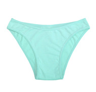 Aqua Blue Basic Ultra Comfy Everyday Cotton Panty