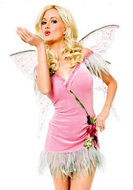 Sexy Garden Flower Enchanting Fairy Halloween Costume