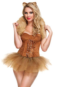 Queen of the Jungle Tutu Lioness Halloween Costume