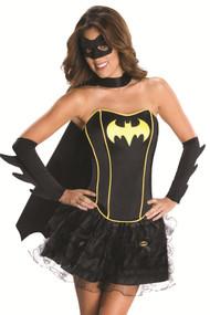 Fancy Batman Corset Petticoat Costume
