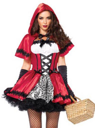 Glamorous Red riding Hood Costume