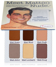 认识Matt(e)Nude®裸色哑光眼影调色板