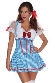 Sexy Dorothy Blue Gingham Costume