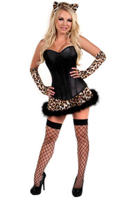 Sexy Kitty Corset Costume XXL Plus Size