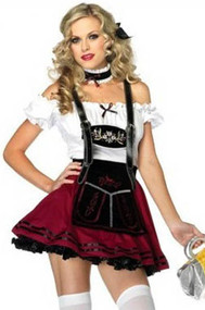 Deluxe  Beer Maiden Halloween Costume XL Plus size