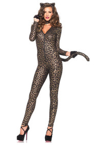 Sultry Kitty Catsuit Costume