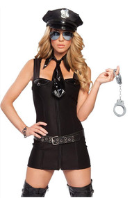 Seductive City Cop Costume