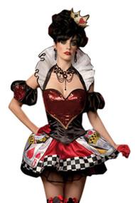 Deluxe Glam Queen of Hearts Costume
