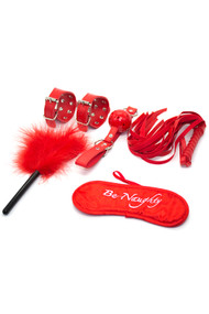 Be Naughty Red Bondage Kit A
