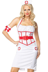 Pin-up Flirty Nurse Costume
