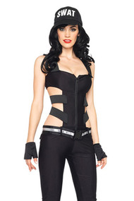 Sexy SWAT Pantsuit Police Costume