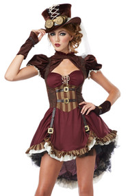 Deluxe Steampunk Princess Costume