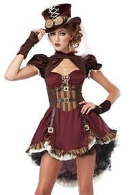 豪华蒸汽朋克公主服装