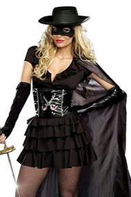Zorro Babe Costume