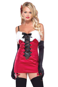 Deluxe Pin-up Santa Costume