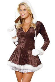 Snow Babe Christmas Costume