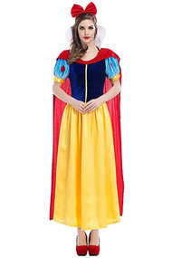 Deluxe Snow White Ball Gown Costume