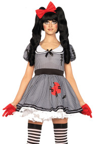 Gothic Lolita Wind up Baby Doll Costume