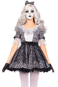 Gothic Julia Baby Doll Costume PLUS