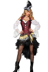 Deluxe Burlesque Pirate Costume
